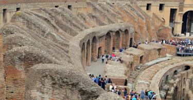 Small Group Colosseum and Roman Forum Guided Tour - Colosseum, Coliseum or Coloseo, Flavian Amphitheatre largest ever built symbol of ancient Roma city in Roman Empire. (2)