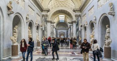 Vatican Museum, Sistine Chapel and St.Peter's Guided Tour - Pio-Clementine Museum (in Vatican Museums.