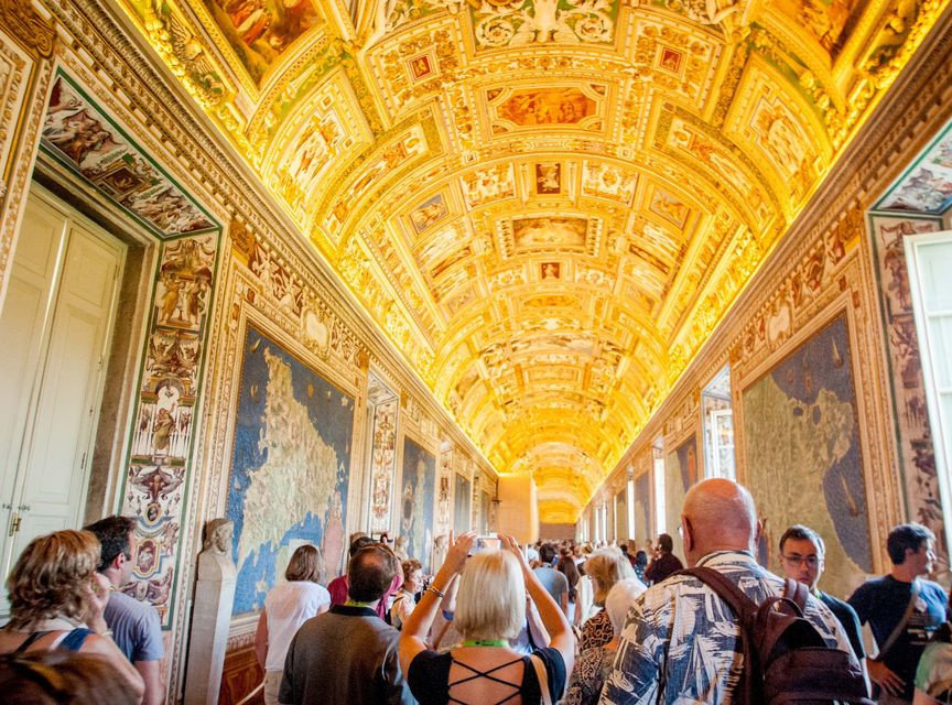 Vatican Museums, Sistine Chapel and Saint Peter's Basilica Guided Tour - Gallery of Maps
