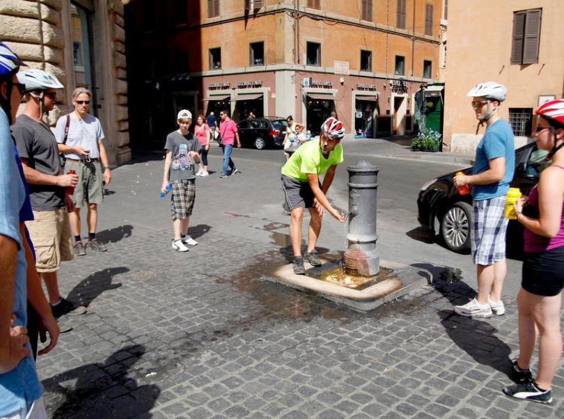 4-Hour Guided Bike Tour of Rome