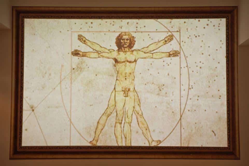 Leonardo Da Vinci Exhibition Ticket