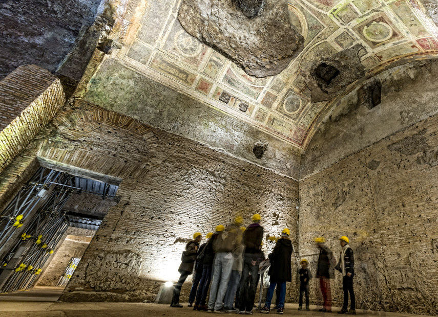 Nero's Golden House Underground and Colosseum Tour