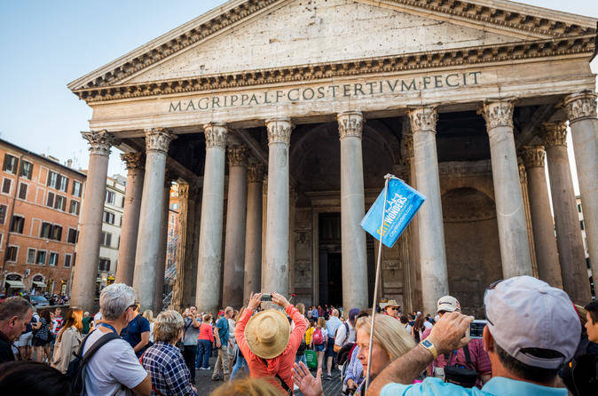 Pantheon, Piazza Navona, and Trevi Fountain Walking Tour (2)