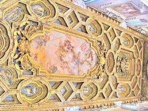 The ceiling of the Basilica di San Clemente