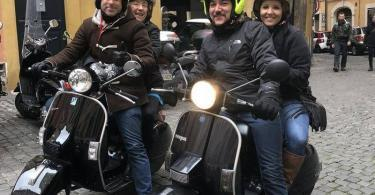 Classic Rome Tour with Vintage Vespa