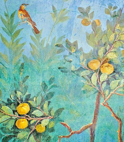 Fruit Trees ,from Villa Livia, 5th. c. A (2)