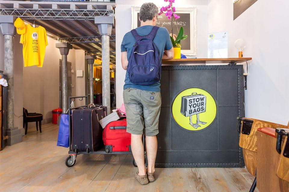 Luggage Storage at Campo de Fiori