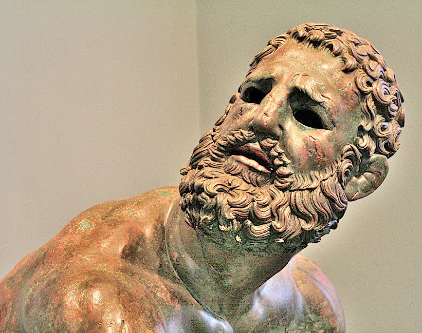 Resting Boxer, National Roman Museum, Rome, Italy (2)