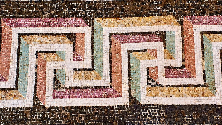 Roman Geometric mosaics-1