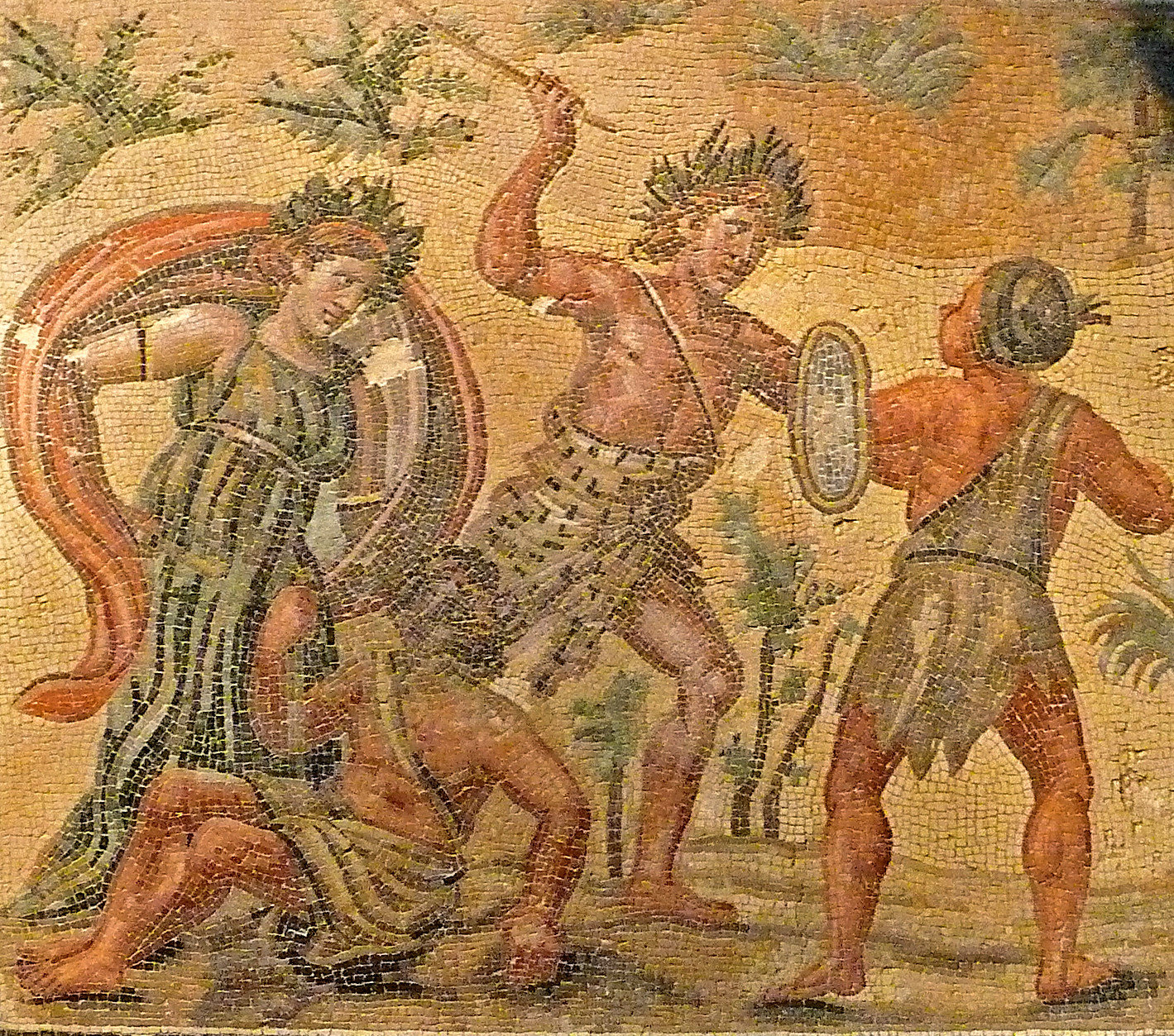 Roman Mosaics of National Roman Museum, Rome (7)