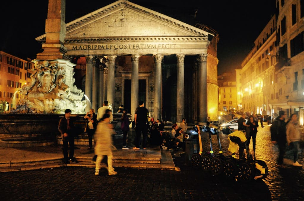 Rome Segway Tour by Night