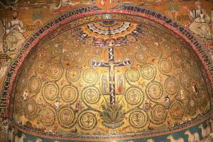 San Clemente Church - Apse mosaic, Rome, Italy