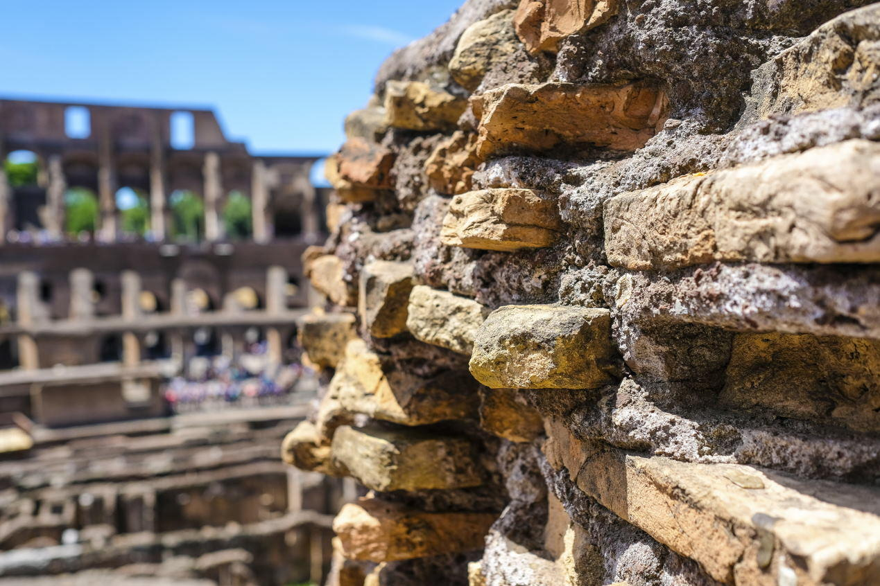 Building Materials Of The Colosseum Colosseum Rome Tickets