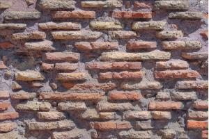 Ancient Roman brickwork - Building Materials of the Colosseum.