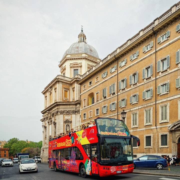 City Sightseeing Hop-on Hop-off Bus Rome