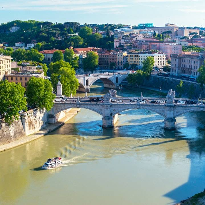 Tiber River Hop-on Hop-off Boat Cruise Tickets