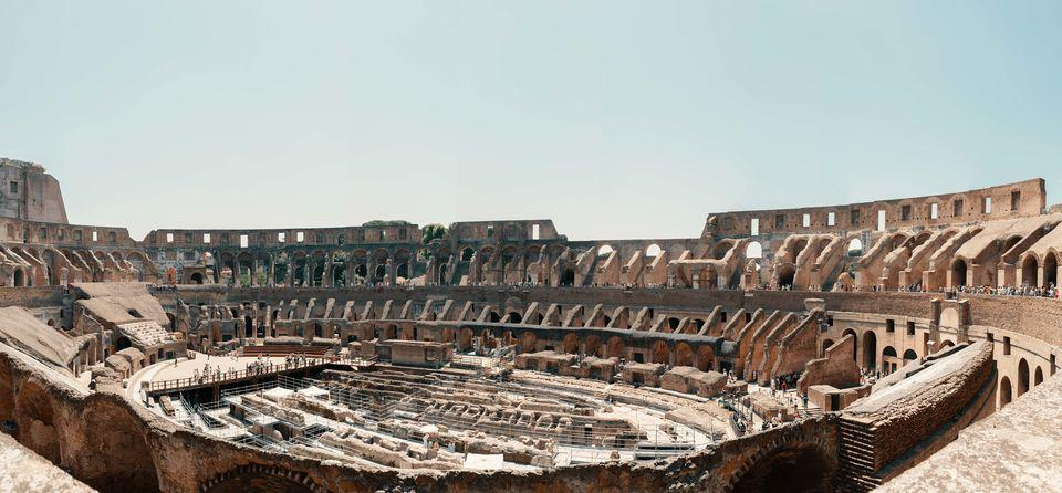 Skip-the-Line Colosseum with Underground Tour