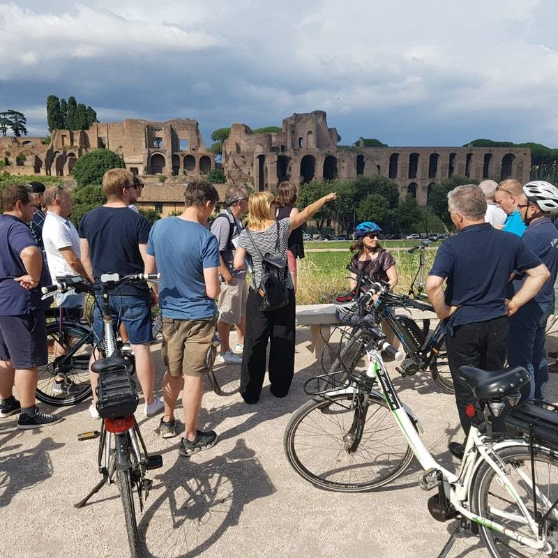 E-Bike Rental Ticket on the Tiber