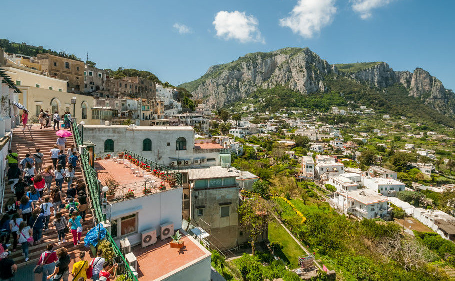 Capri from Rome Full-Day Tour