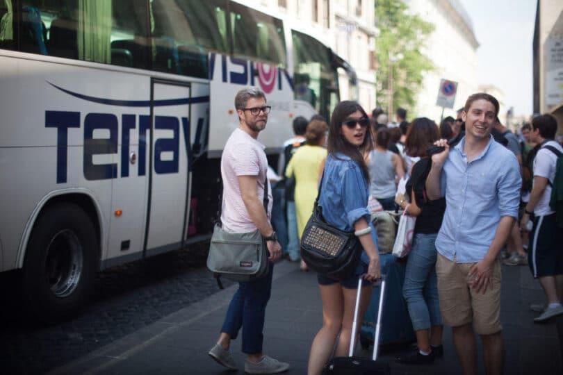 Direct Bus Transfer Fiumicino Airport - Rome Termini