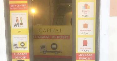 Luggage Storage Roma Termini