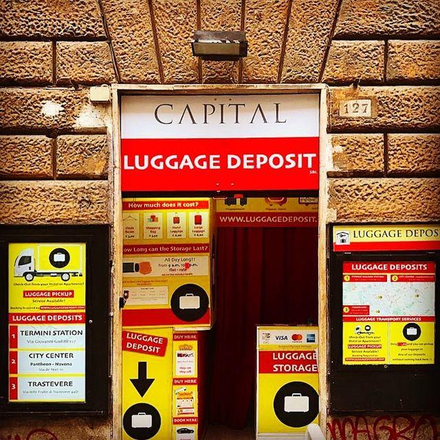 Luggage Storage Roma Termini