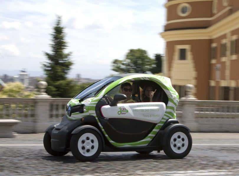 Electric Car Rental in Rome